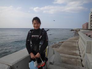 2014.11.19 砂辺ビーチ ファンダイビング