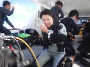 2014.11.24 慶良間ボート ファンダイビング