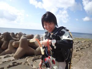 2014.11.21 砂辺ビーチ ファンダイビング