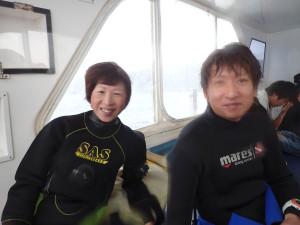 2014.11.18 慶良間ボート AOWコース&ファンダイビング