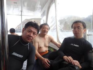 2014.11.02 渡名喜遠征ボートファンダイビング