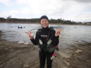 2014.12.26 奥武島ビーチ 体験ダイビング