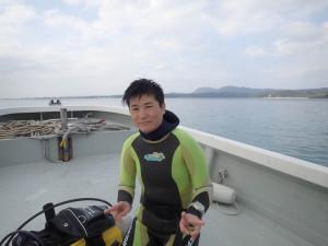2014.12.25 大浦湾ボート ファンダイビング