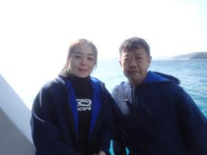 2014.12.09 慶良間ボート ファンダイビング