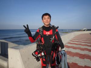 2014.12.15 砂辺ビーチ ファンダイビング