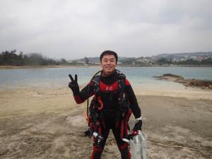 2014.12.16 奥武島ビーチ ファンダイビング
