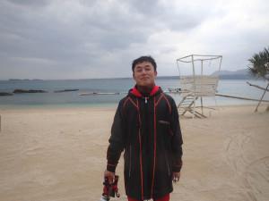 2014.12.17 大浦湾ボート ファンダイビング
