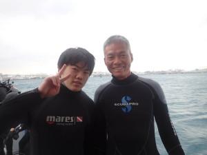 2015.01.01  那覇港 体験ダイビングコース