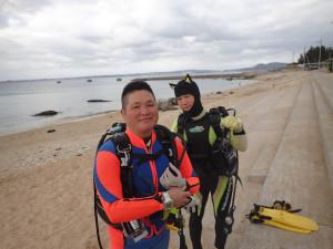 2015.01.02 レッドビーチ ファンダイビング
