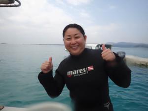 2015.02.12 大浦湾ボート ファンダイビング