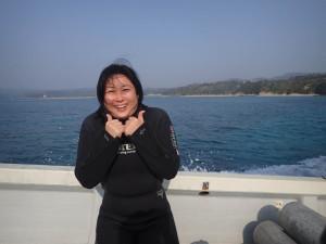 2015.02.13 大浦湾ボート ファンダイビング