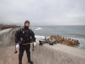 2015.02.28 砂辺ビーチ ファンダイビング