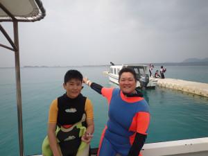 2015.03.22 大浦湾ボート ファンダイビング