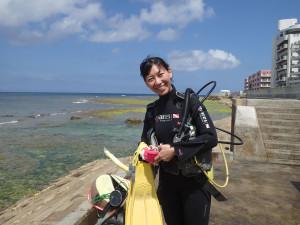 2015.04.02 砂辺ビーチ AOWコース