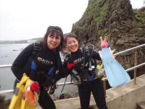 2015.04.29 真栄田岬ビーチ OWD講習&ファンダイビング