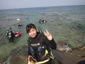 2015.04.30 砂辺ビーチ OWDコース