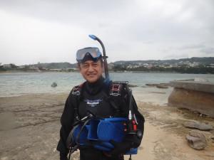 2015.04.13 奥武島ビーチ ドライスーツ・ダイバーSPコース