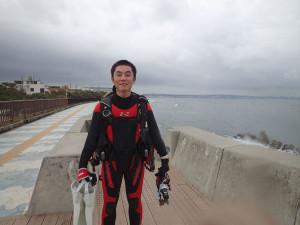 2015.04.22 砂辺ビーチ ファンダイビング