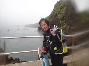 2015.05.24 真栄田岬ビーチ ファンダイビング