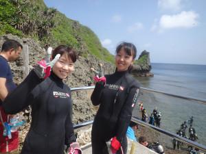 2015.05.30 真栄田岬・青の洞窟 スノーケル&体験ダイビング