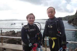 2015.07.05 真栄田岬ビーチ ファンダイビング
