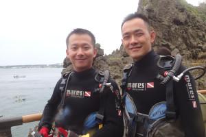 2015.07.19 真栄田ビーチ 体験ダイビングコース