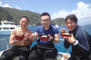 2015.07.27 慶良間ボート ファンダイビング