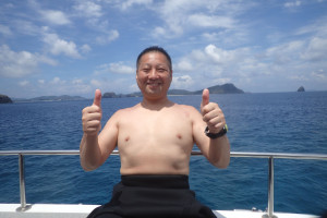 2015.07.28 慶良間ボート ファンダイビング