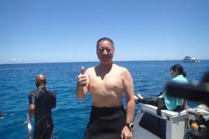 2015.07.24 慶良間ボート ファンダイビング