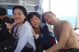 2015.07.30 慶良間ボート ファンダイビング