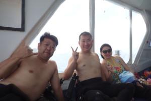 2015.07.06 慶良間ボート ファンダイビング