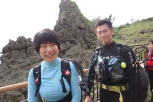 2015.08.30 真栄田岬ビーチ ファンダイビング