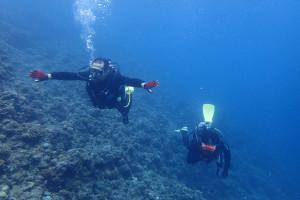 2015.08.29  真栄田岬・青の洞窟 スノーケル&体験ダイビング