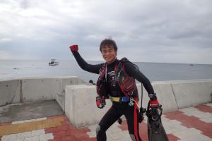 2015.09.15 砂辺ビーチ ファンダイビング