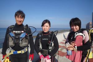 2015.09.23 砂辺ビーチ ファンダイビング