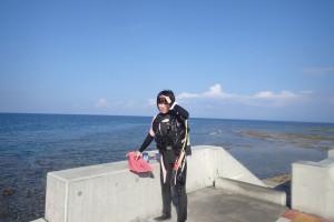 2015.09.24 砂辺ビーチ ファンダイビング