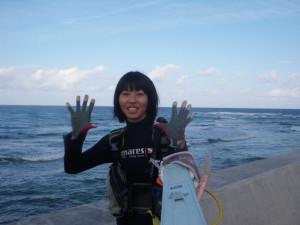 2015.09.25 砂辺ビーチ OWDコース