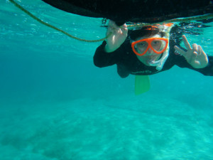 2015.09.19 奥武島ビーチ スノーケル&体験ダイビング