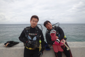 2015.10.31 砂辺ビーチ ファンダイビング