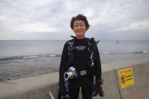 2015.10.09 砂辺ビーチ ファンダイビング