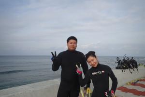2015.11.02 砂辺ビーチ 体験ダイビング&付き添いファンダイビング
