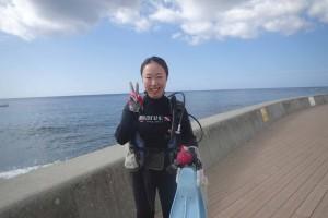 2015.11.20 砂辺ビーチ ファンダイビング