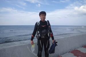 2015.11.21 砂辺ビーチ ファンダイビング