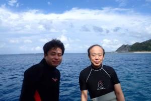 2015.11.22 渡名喜島遠征ボートダイビング