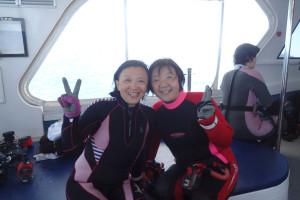 2015.11.8 渡名喜遠征ボート ファンダイビング