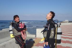 2015.12.05 砂辺ビーチ ファンダイビング