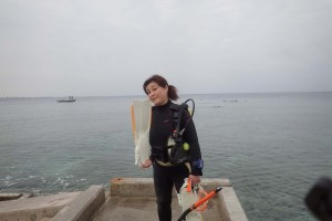 2015.12.27 砂辺ビーチ ファンダイビング