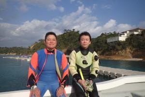 2015.12.29 大浦湾ボート ファンダイビング
