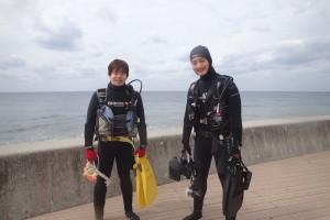 2016.02.26 砂辺ビーチ ファンダイビング