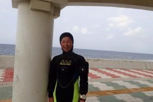 2016.03.18 砂辺ビーチ ファンダイビング